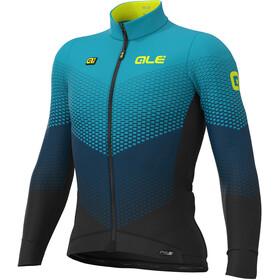 Alé Cycling PR-S Delta Micro LS Jersey Men black/petrol/turquoise